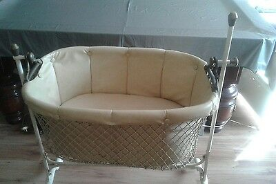 large antique baby crib