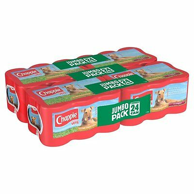 Chappie Dog Tins Original Chicken & Rice 24 x 412g