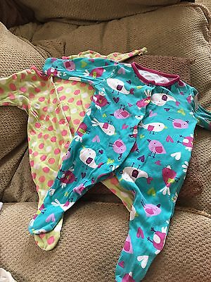 2 X Sleepsuits 0-3 Months