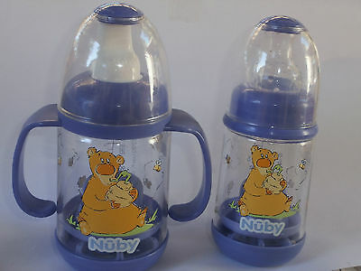 2 Sets NEW Nuby Infant Infa Feeder Feeding Set~Infafeeder~Cereal Bottles ~Purple