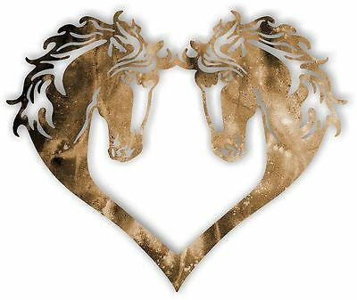 DXF CNC dxf for Plasma Router Clip Art Horse Heart Man Cave Wall Art