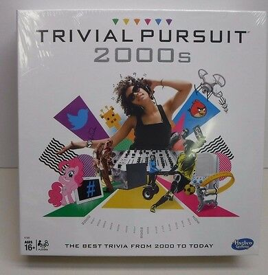 Trivial Pursuit 2000's Edition Game NEW