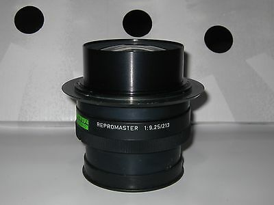 Vintage REPROMASTER 1:9,25 / 213 Camera Lens Made in West Germany