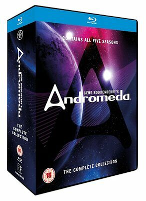 Andromeda - The Complete Series Collection (Blu-ray) Seasons 1 2 3 4 5 BRAND NEW