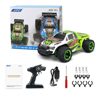Cross Country Toy Car JJRC Children Remote Control Battery Operation Green