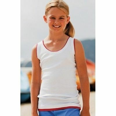 job lot of 20 Girls Skinni Minni Layered vest tops mixed ages 4-10 years