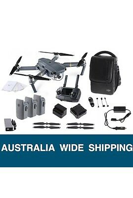 2017 Dji Mavic Pro Fly Combo Bundle Drone, Australian Dealer Direct