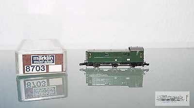 Märklin 8703, 3-achsiger Baggage Coach German Railway For Gauge Z, BOXED