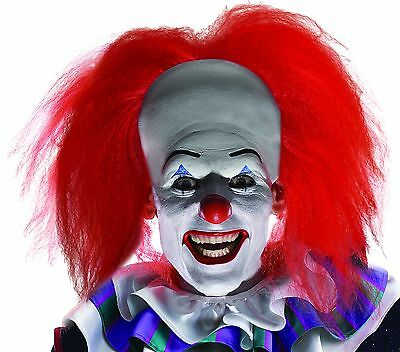 Pennywise Orginal Mask Adult Scary Clown It Halloween Costume Fancy Dress Import