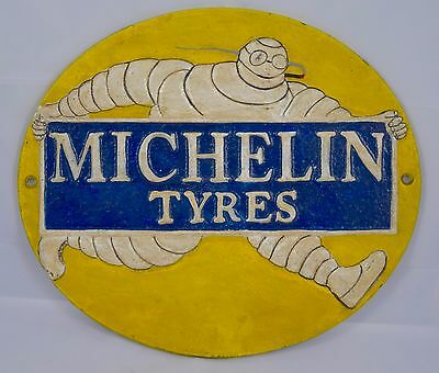 Vintage 1920's Style Michelin Tires Advertising Sign