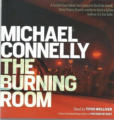 Audio book - The Burning Room by Michael Connelly - CD
