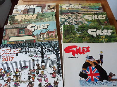 Eight Giles Annuals