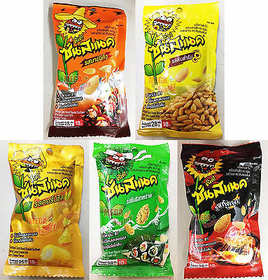 5 x 28g. Sunsnack Dunk Roasted Sunflower Kernel Cereal Coated No Cholesterol