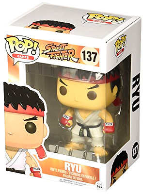 Funko Pop Games Street Fighter Ryu Vinyl Action Figure 11654 Collectible Toy 137