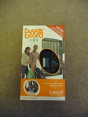 Lascal Buggy Board Mini, Blue, Boxed. Only lightly used.