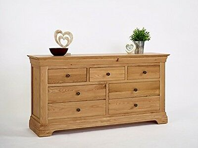 Normandy Chest Of 3 Over 4 Drawers French Style Solid Furniture