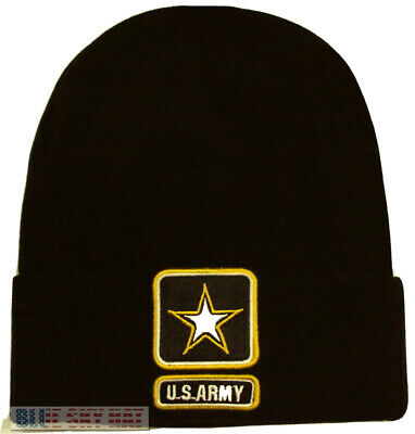 9a2e340c334816 New Licensed U.s. Army Strong One Star Winter Knit Beanie Watch Cap Ski  Warm Hat