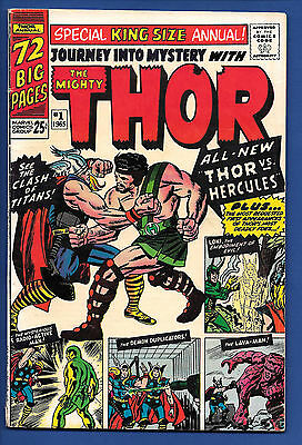 Journey Into Mystery Annual #1 (1965) WP, 1st Hercules & Zeus, Thor, King Size