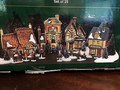 """Dept. 56 Heritage Village Collection Dickens' Series """"MANCHESTER SQUARE"""" (25)"""