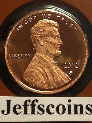2012 S Lincoln Shield Cent Proof Deep Cameo 1¢ Penny via U.S.Mint Set Low Price