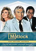 Matlock - The Complete Second Season (DVD, 2009, 6-Disc Set) Brand New