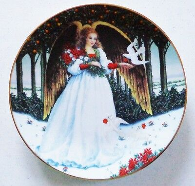 Hamilton Collection Doves of Peace Plate 1994 NIP