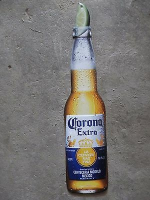 Corona Extra Cerveza Metal Beer Sign 22 X 5 In- New!