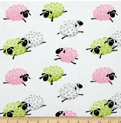 Susybee * Lal The Lamb Leaping Sheep Fabric * Free Post * 🐑 * Why Pay $28 *