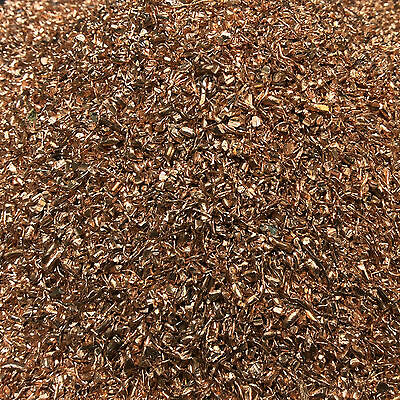 20 lbs No. 1 Copper Grains/Shreds for Casting/Alloying/Silver/Gold/Orgone