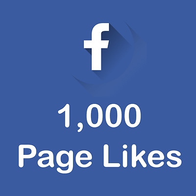 1,000 Facebook-Fan-Page-Like-Safe -REAL- Permanent - Fast