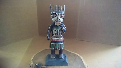 Rare Northwest Coast Haida Indian Cedar Shaman Totem C.1920S.