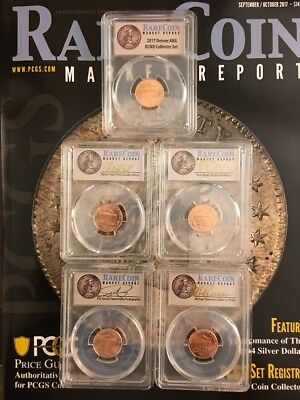PCGS 5 Coin Sample Slab Signature Set Only Available At Denver ANA