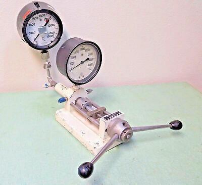 Ruska Model 2400 Dead Weight Gage Tester 16,000 PSI