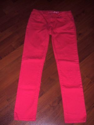 GAP KIDS 1969 Dark Pink Super Skinny Denim Adj Waist Jeans Girl's Size 12 R NWOT
