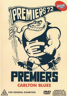 AFL: Premiers 1972 Carlton  - DVD - NEW Region 4
