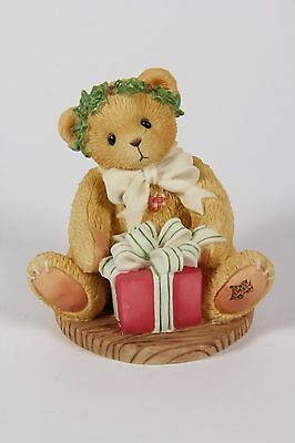 "REDUCED! Cherished Teddies - Margy #475602 ""I'm wrapping up..."" Avon Exclusive"