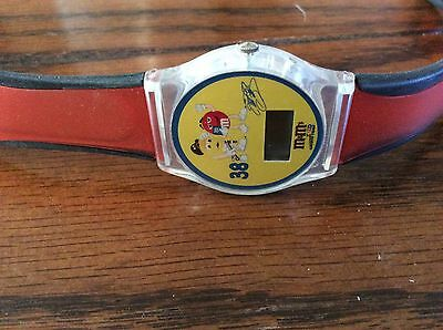 m&m elliott sadler #38 Digital Watch With Case
