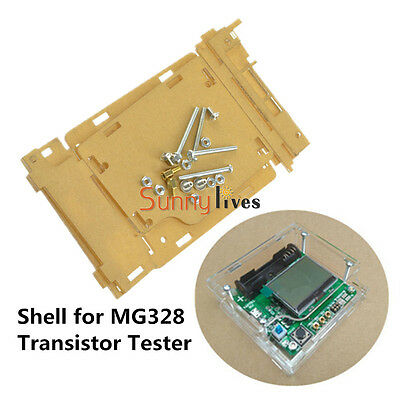 Shell case f Inductor Capacitor ESR Meter MG328 Multifunction Transistor Tester
