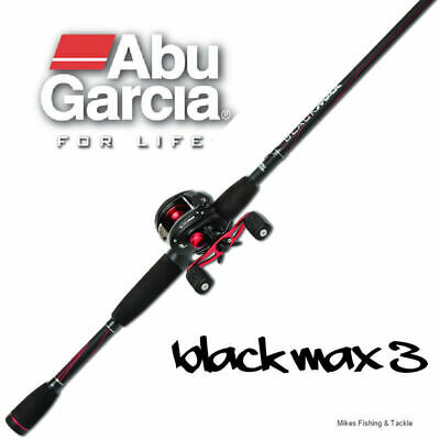 "Abu Garcia Combo Black Max Rod 5'6"" 6-8kg 1pc Black Max 3 Reel 2015 NEW RELEASE"