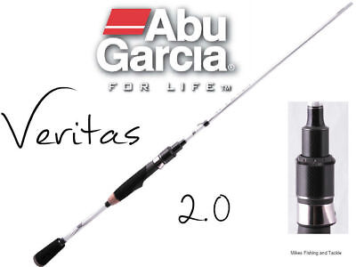 "Abu Garcia Veritas 2.0 Baitcast Rod 5'6"" 4-6kg 1pc Fishing (Aus Warranty)"