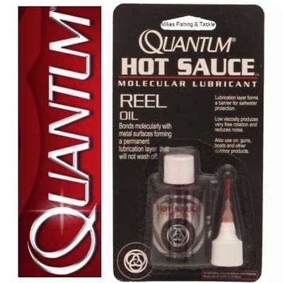 Quantum Hot Sauce Reel Oil - Fishing Reel Maintenance Lubrication Kit