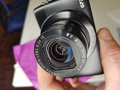 Canon  PowerShot G7 X 20.2 MP Digital Camera - Black