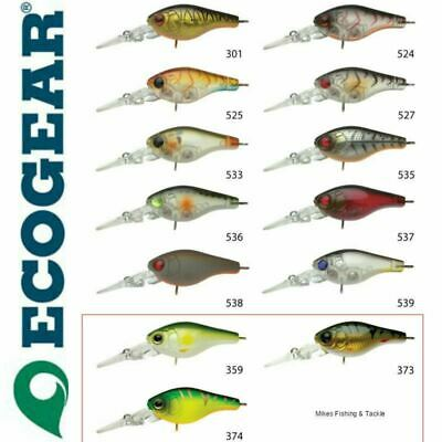Ecogear CX 35HS Hardbody Fishing Lure Good for Bream Flathead Bass Trout