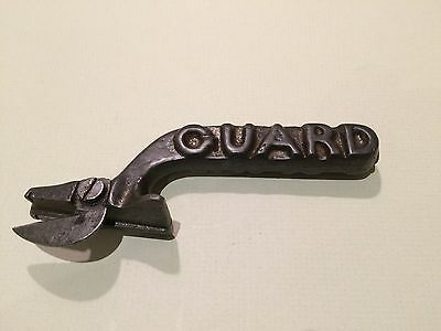Antique Cast Iron Can Opener 'guard' - Rare Collectable Kitchenalia