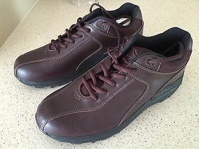 Shoe Golf Men's  Niblick Burgundy 10.5