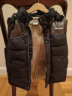 Boys – H&M Puffer Vest – size 7 (EXC)