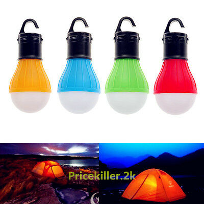 Hanging LED Camping Tent Light Bulb Fishing Lantern Lamp Outdoor Accessories NEW
