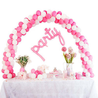 """Balloon Arch Kit Wedding Cake Table Top Display Party for 5"""" air fill decor"""
