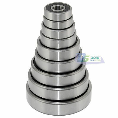 Roller Bearings 6800- 6806 Series RS Rubber Sealed Deep Groove Ball Bearing