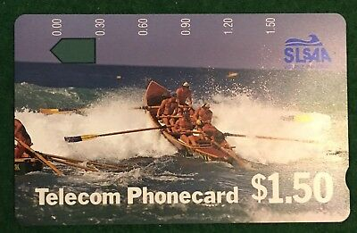 No Holes Phonecard Telecom $1.50 Slsaa
